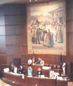 Brad gives Invocation in Oregon Legislature