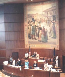 Brad gives Invocation in Oregon Legislature